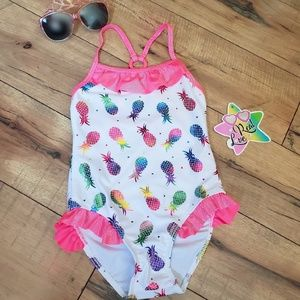 Girls Pineapple Bathing Suit size 4T